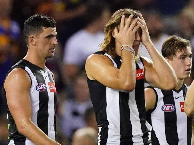 Scott Pendlebury says Collingwood want to win matches to take pressure of coach Nathan Buckley.